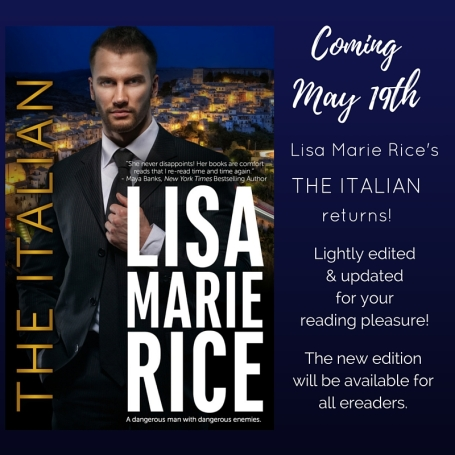 COVER REVEAL - the Italian