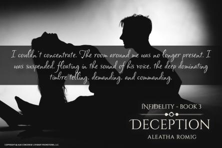 DECEPTION - SUSPENDED